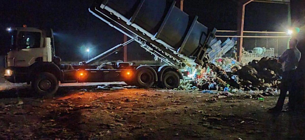 Рабочего ударило металлическим контейнером по голове на мусоросортировочном комплексе в Городецком районе