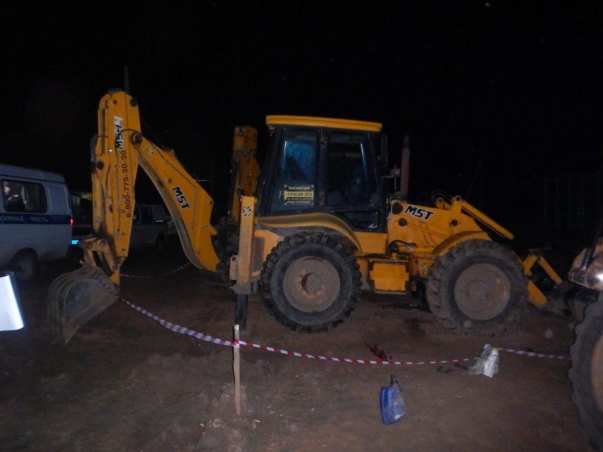 Следователи выясняют, кто виноват в гибели мужчины при ремонте экскаватора на Бору