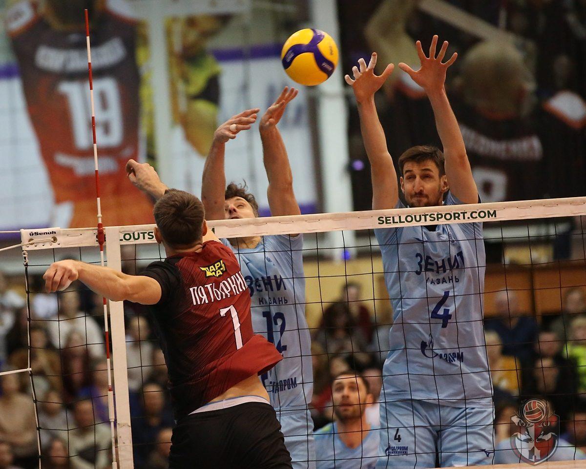 Волейболисты АСК дали бой грозному сопернику