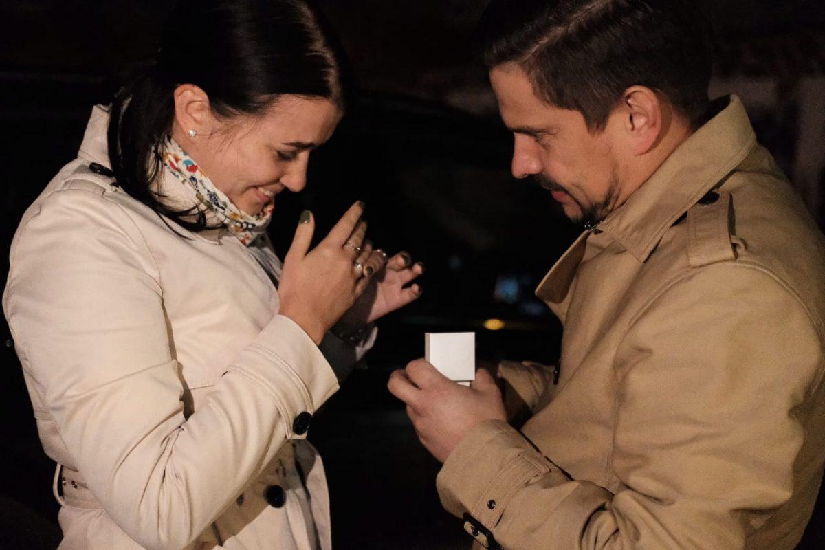Предложение руки и сердца зажглось на нижегородской телебашне