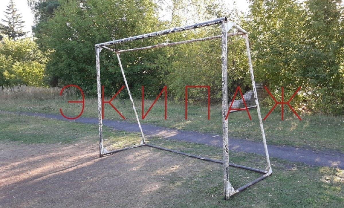 Следователи заинтересовались падением футбольных ворот на ребенка в Володарском районе