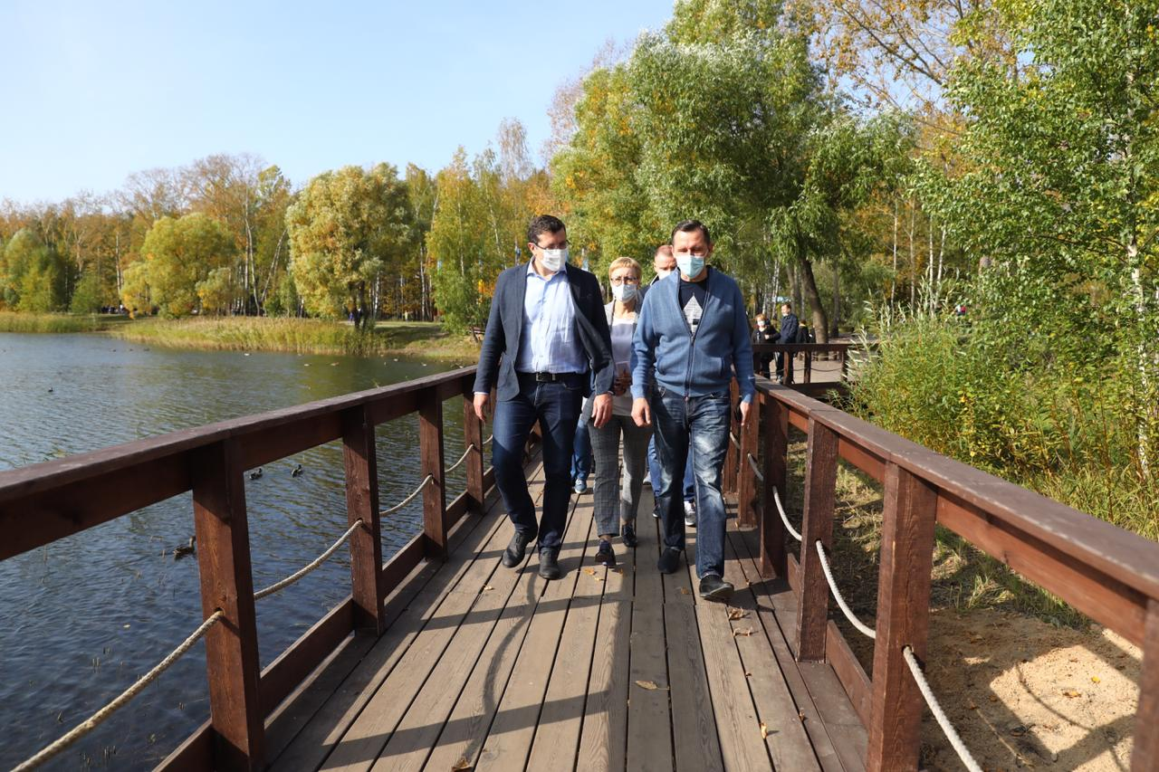 Глеб Никитин Светлоярский парк