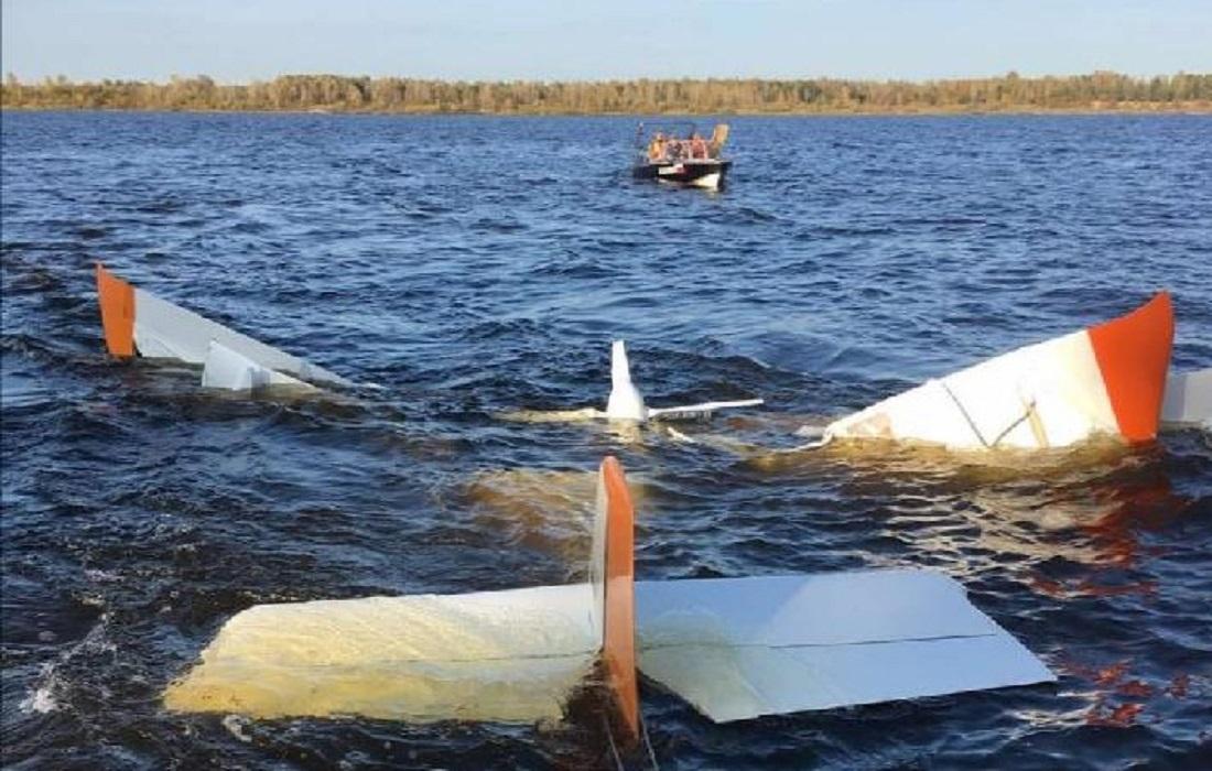 Следственный комитет выясняет обстоятельства падения самолета в Волгу в Нижегородской области