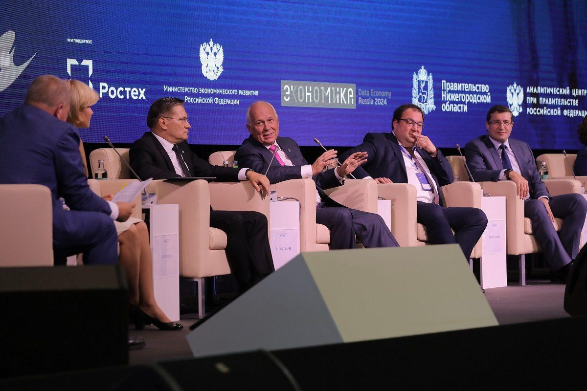 Максут Шадаев иСергей Чемезов высоко оценили нижегородские разработки вИТ-сфере