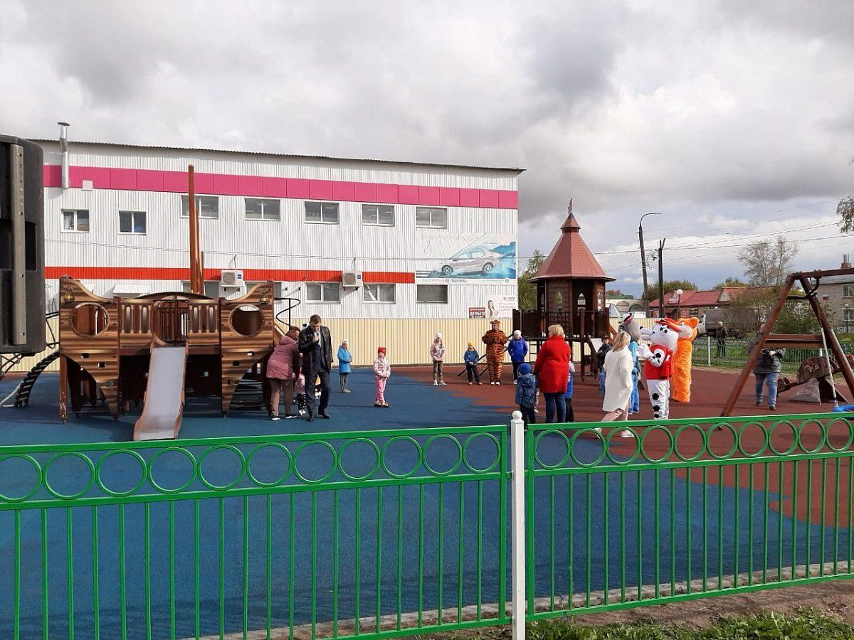 Благоустройство парка завершилось врабочем поселке Пильна