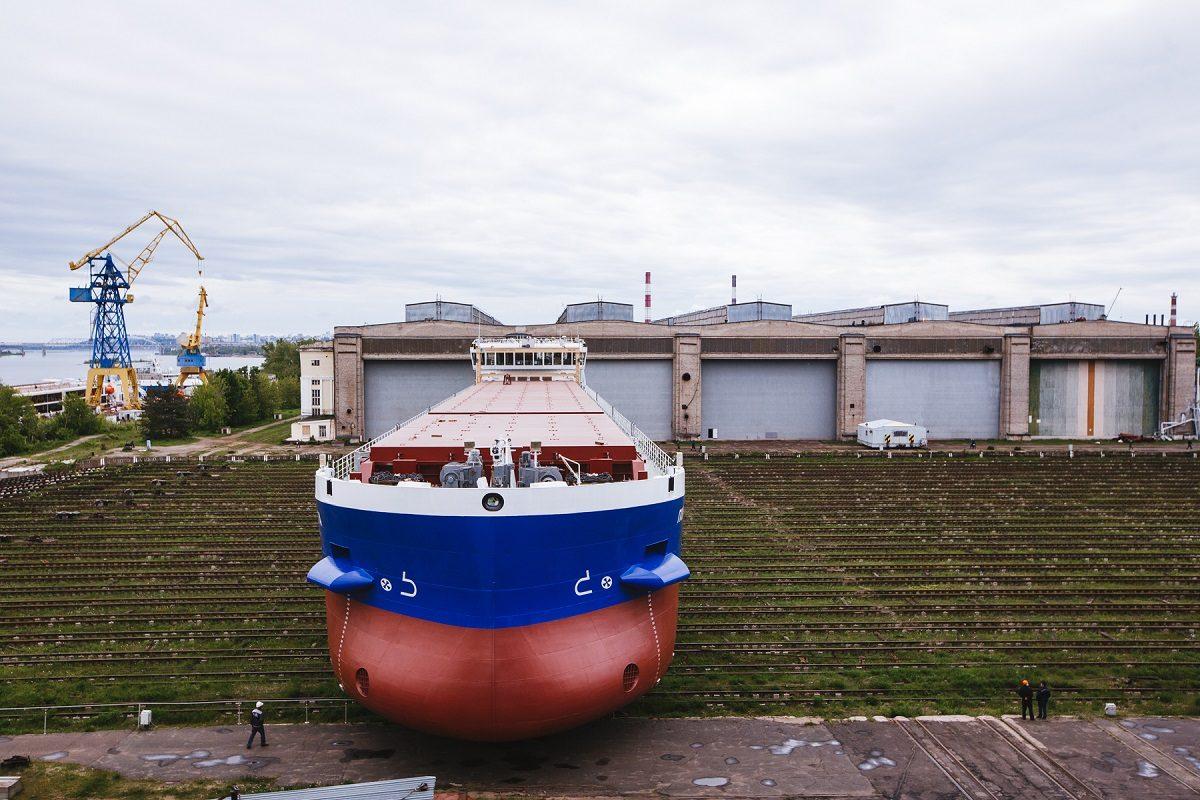 На заводе «Красное Сормово» спустят на воду сухогруз «Пола Миропия»
