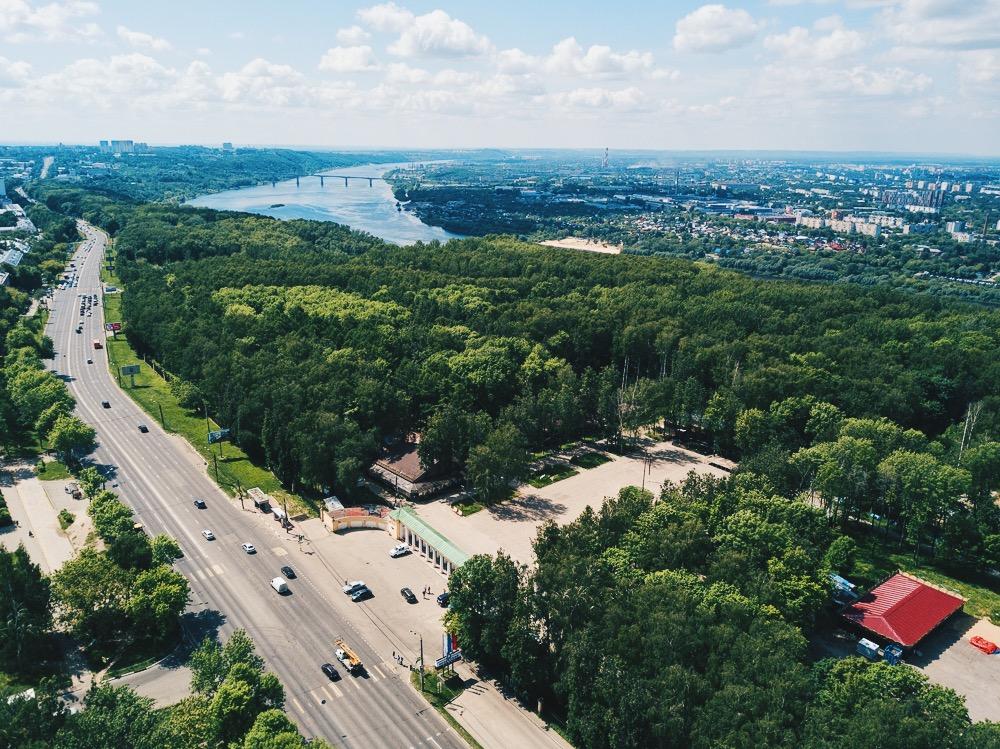 Инклюзивную инфраструктуру, обзорные площадки и спортивные объекты хотят увидеть нижегородцы в благоустроенном парке «Швейцария»