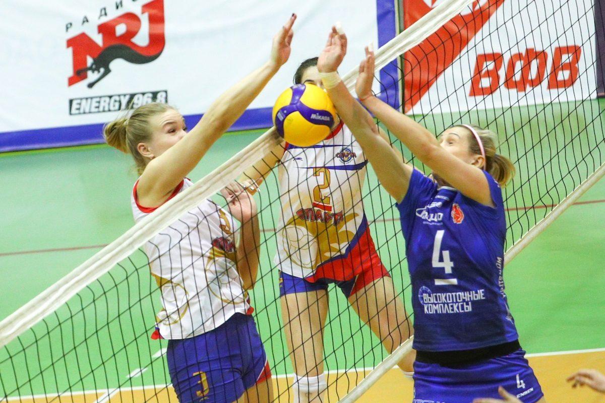 Волейболистки нижегородской «Спарты» с поражения стартовали в Кубке России