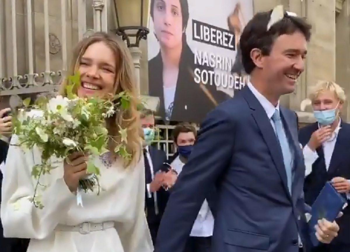 Наталья Водянова разместила фото и видео со свадьбы с миллиардером Антуаном Арно