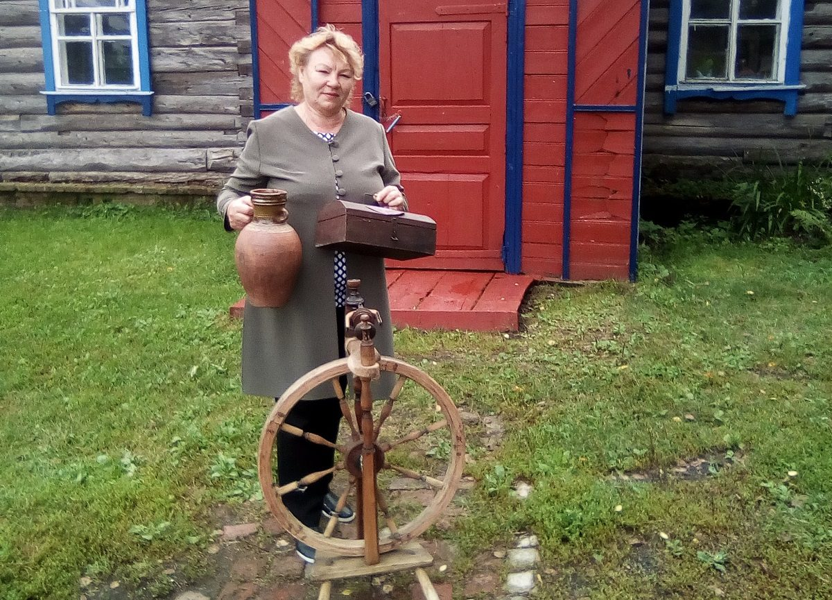 Руководитель сельского клуба в Починковском районе создала содносельчанами уникальный музей