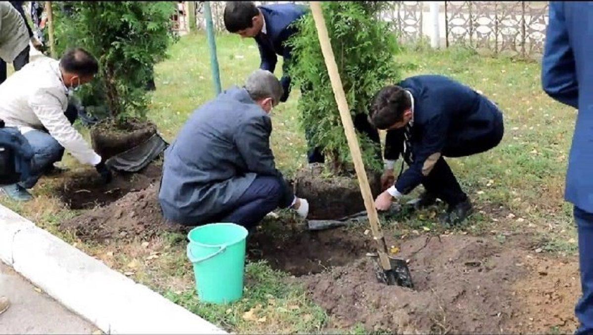Аллею в память о милиционерах-героях посадили в Нижнем Новгороде