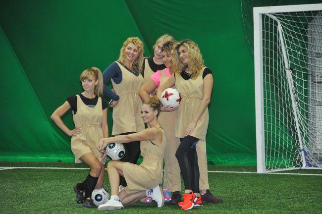 Нижегородки сыграют в футбол в помощь детям