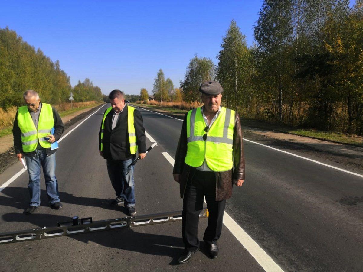 10км дороги отремонтировали награнице Городецкого иКнягининского районов Нижегородской области