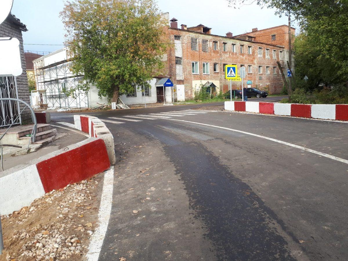 Дорогу ивременный железнодорожный переезд открыли наул.Новосоветской вНижнем Новгороде
