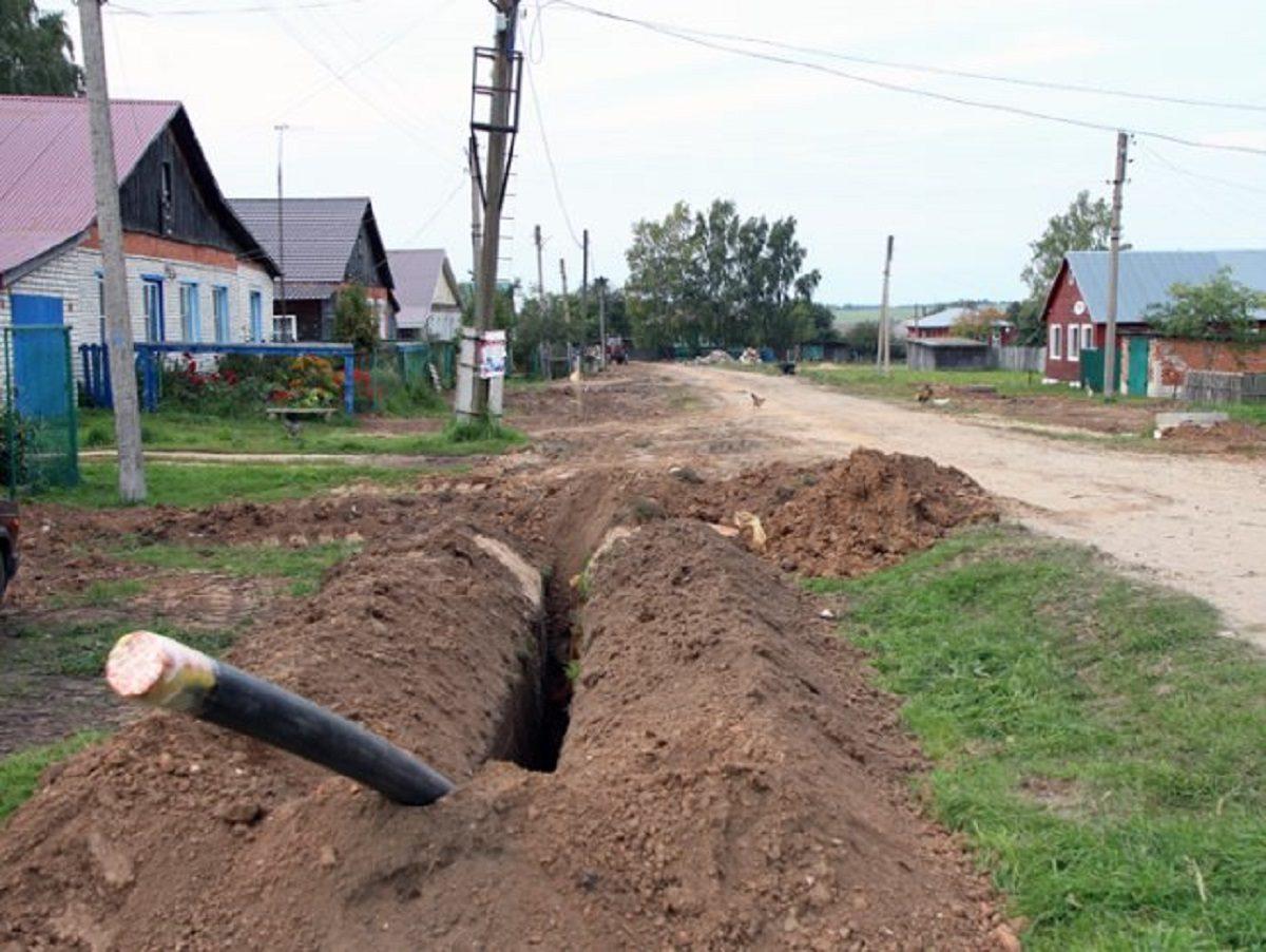 В  домах жителей села Бараново Сосновского района появился газ
