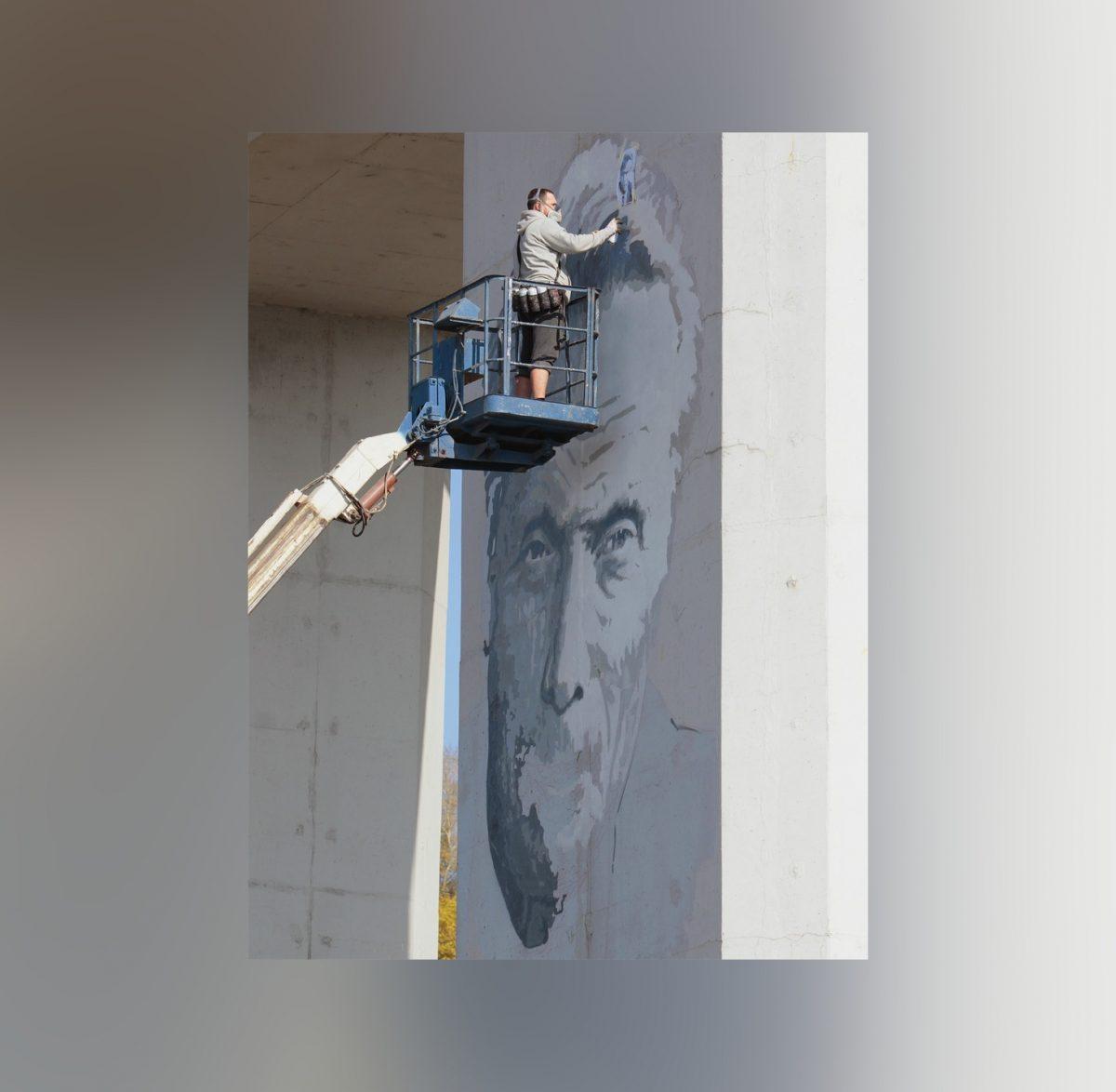 Новое граффити с Ростиславом Алексеевым скоро появится в Нижнем Новгороде