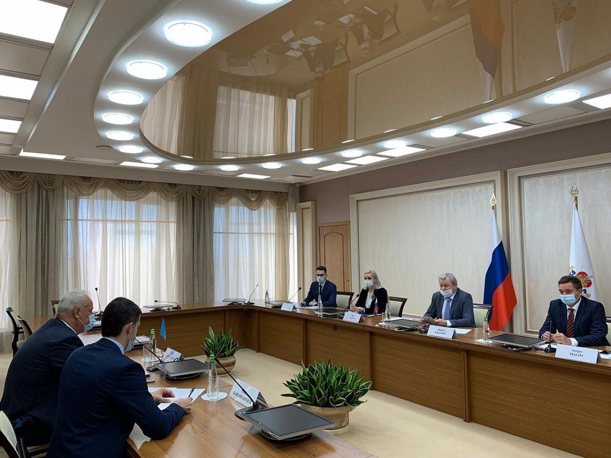 Дмитрий Краснов встретился сделегацией Посольства Боснии иГерцеговины вНижнем Новгороде