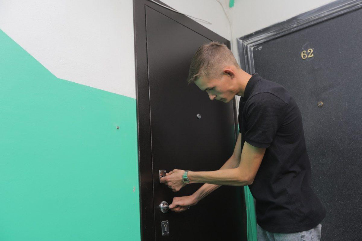 Дети-сироты получили квартиры в Дзержинске
