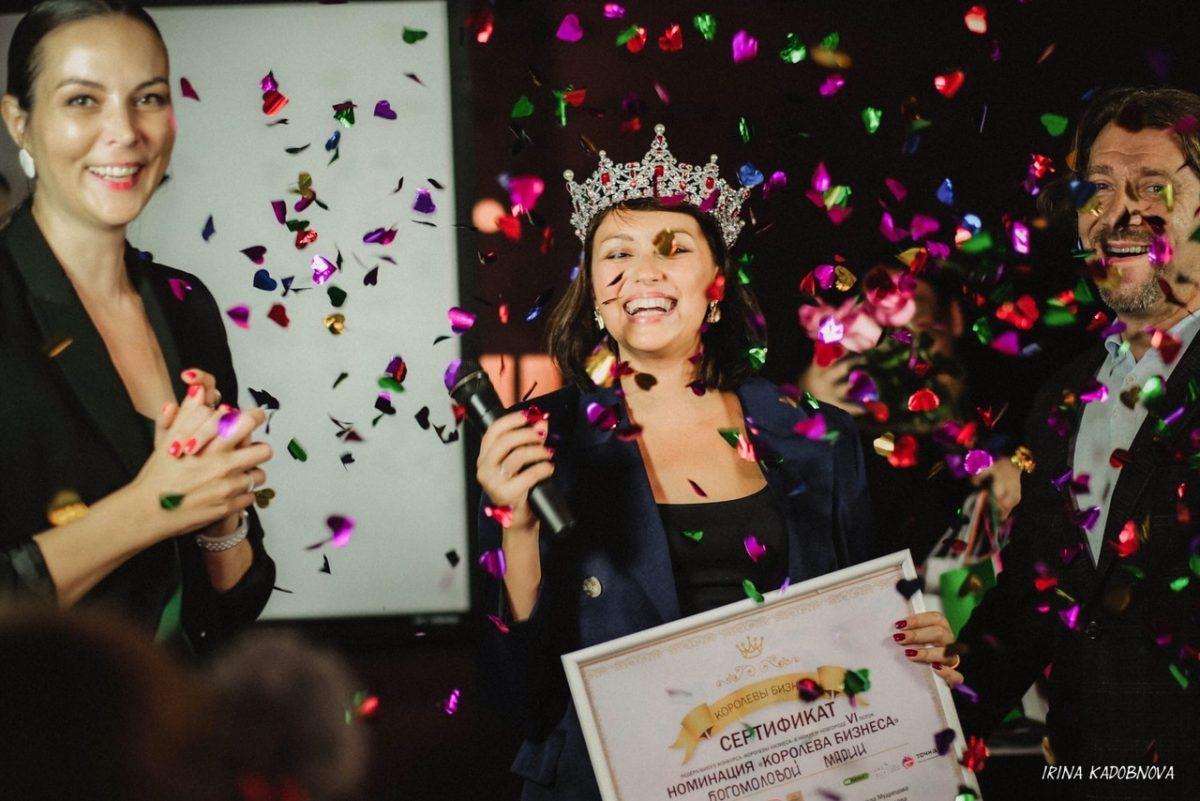 Нижегородка Мария Богомолова получила звание «Королева бизнеса»