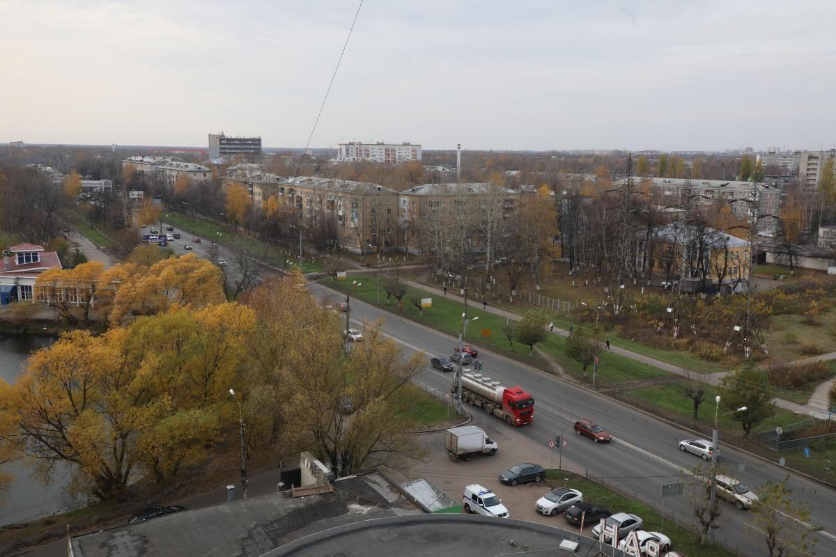 Выделенная полоса для общественного транспорта будет организована на участке Московского шоссе