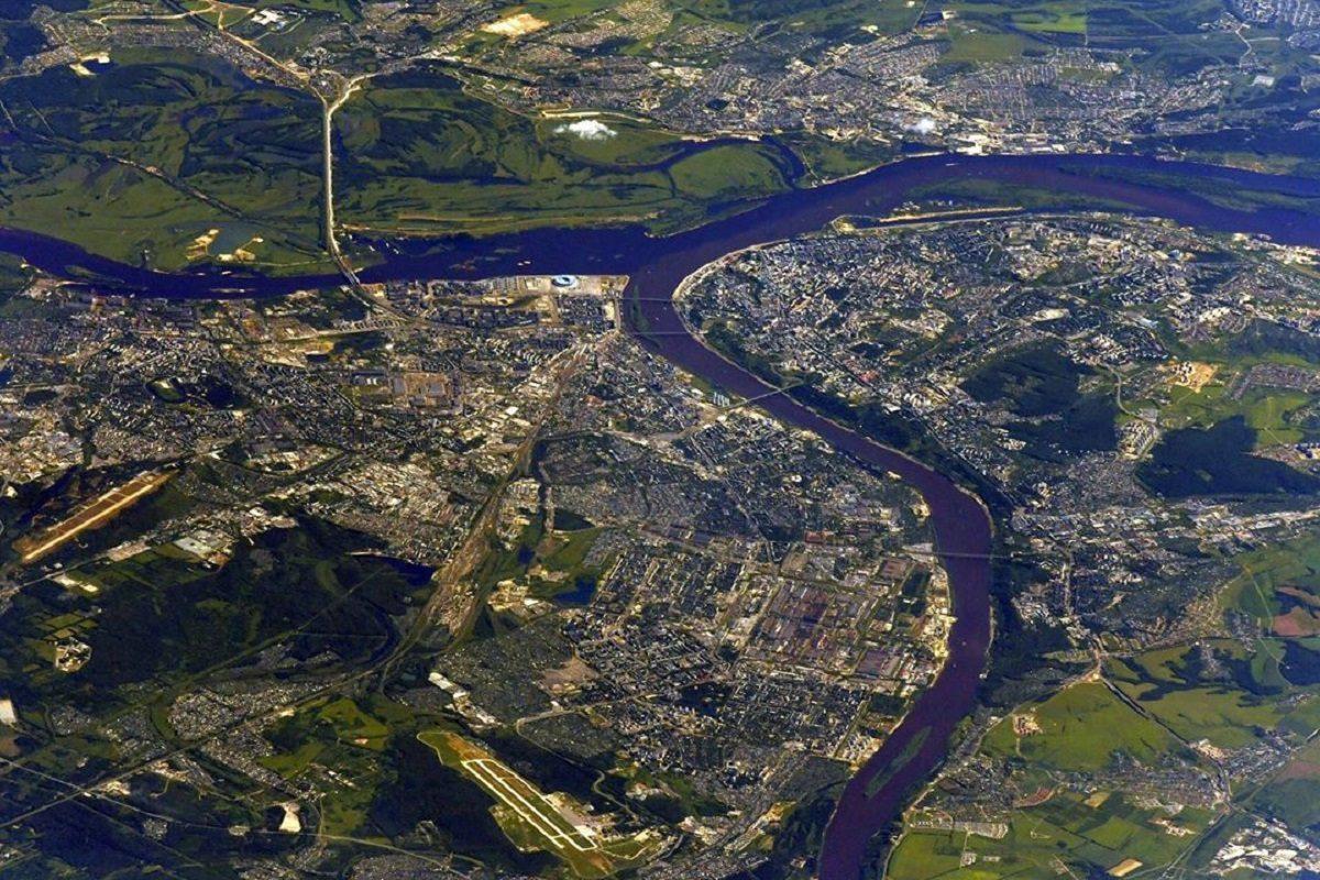 Фото дня: российский космонавт сделал снимок Нижнего Новгорода из МКС