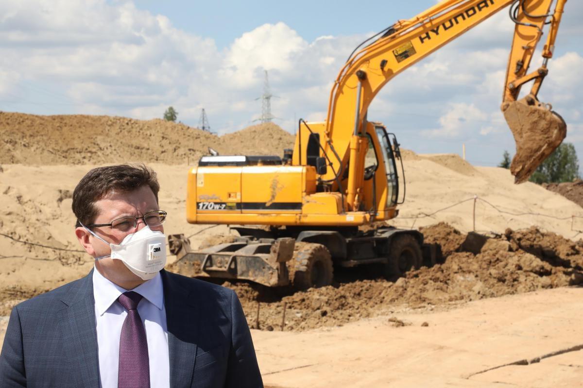 Глеб Никитин рассказал, когда снимут ограничения движения в Ольгино