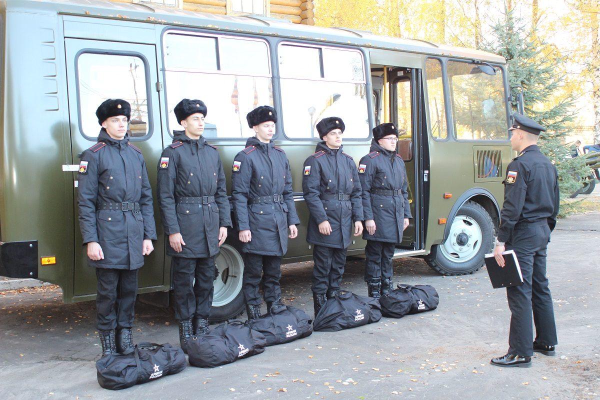 Осенний призыв начнется 1октября вНижегородской области
