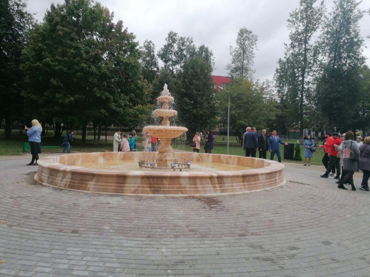 Благоустройство городского парка культуры иотдыха завершилось вБогородске (ФОТО)