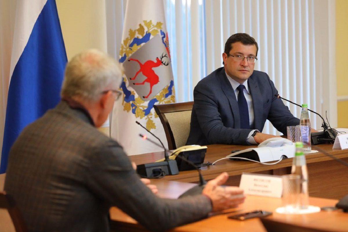 Глеб Никитин и Вячеслав Фетисов обсудили реализацию нацпроекта «Экология»