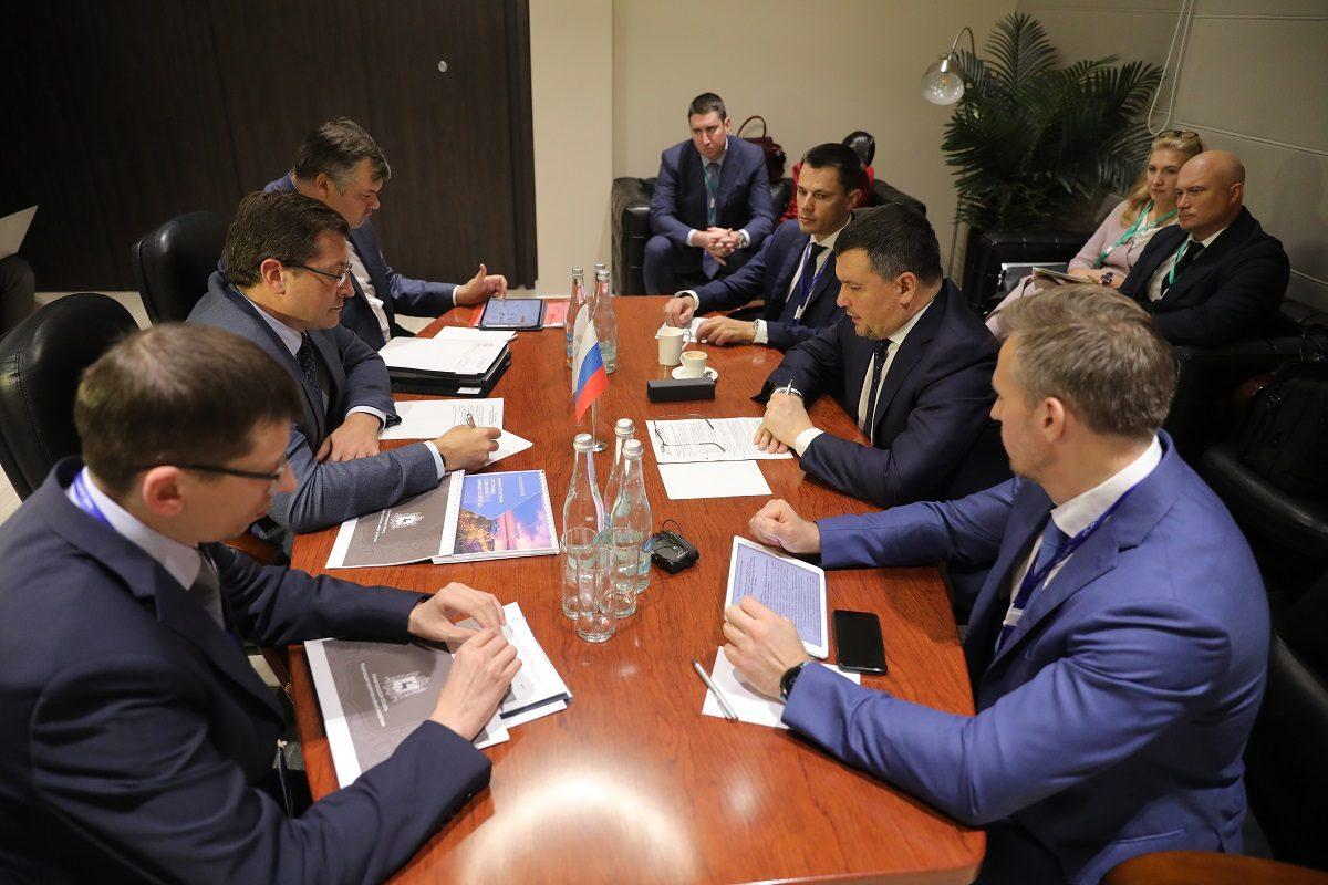 Глеб Никитин иМаксим Акимов обсудили мероприятия поповышению качества идоступности почтовых услуг врегионе