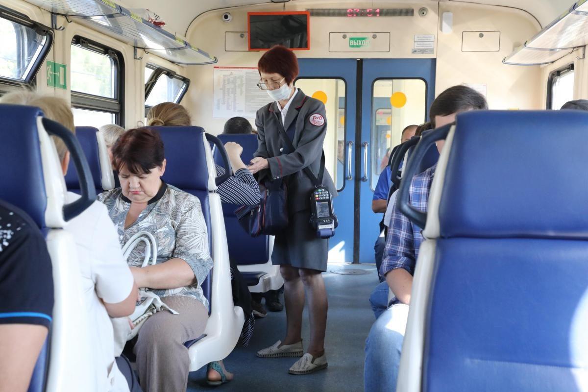 Пригородные поезда сделают остановку в Стригине
