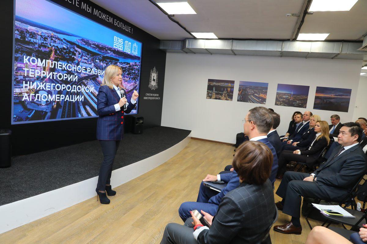 Создан совместный проектный офис Нижегородской области иВЭБ. РФпокомплексному развитию Нижнего Новгорода