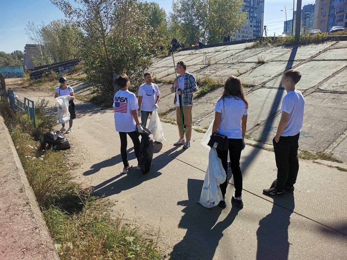 Спортивный субботник прошел вНижнем Новгороде