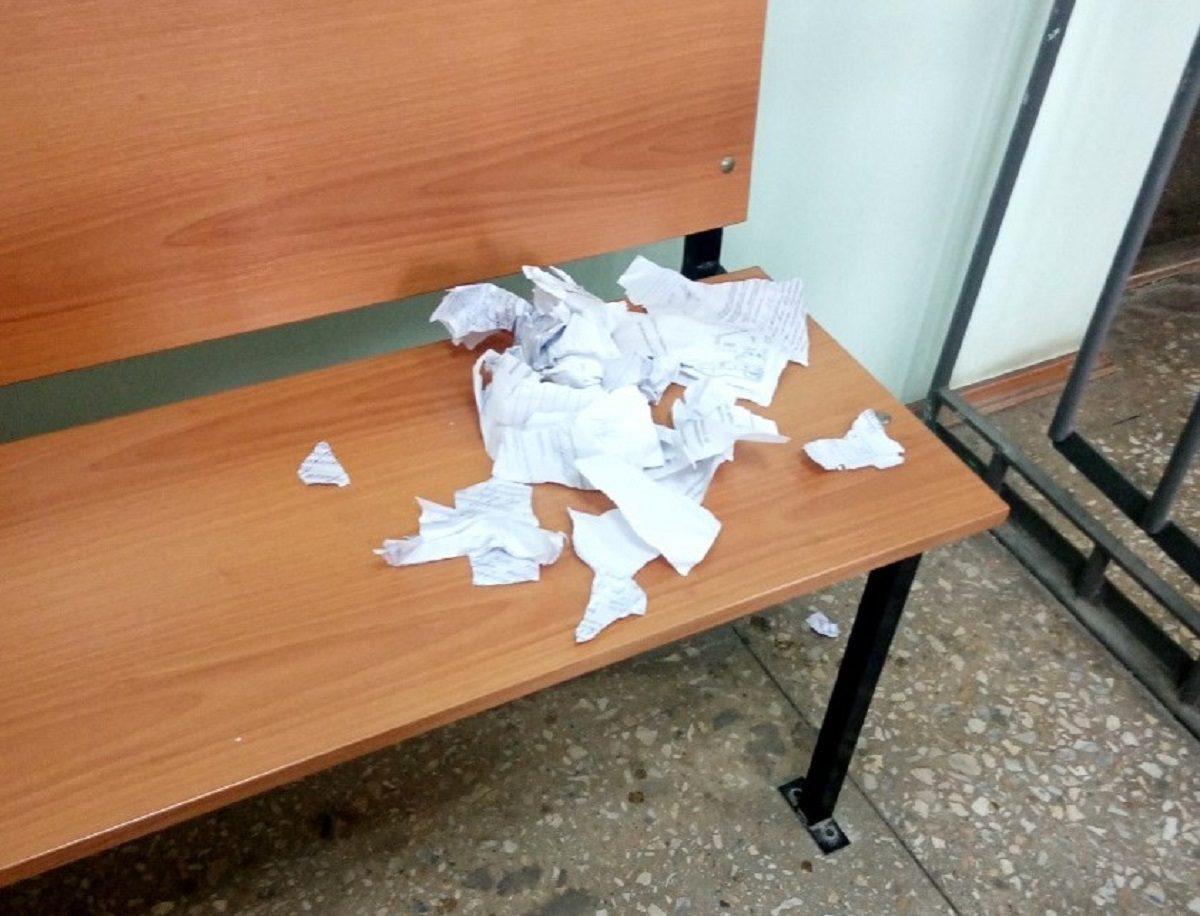 Нижегородец пытался разорвать материалы уголовного дела в зале суда