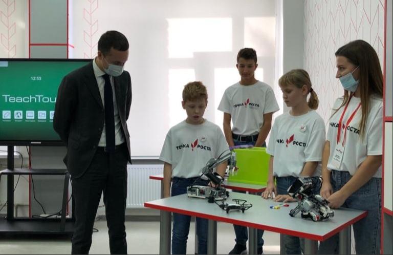 3D модель Чкаловской лестницы презентовали нижегородские школьники навсероссийском марафоне открытий центров «Точка роста»