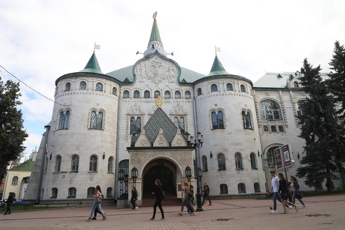 Видео дня: Нижегородцам показали изнутри здание Банка на Большой Покровской