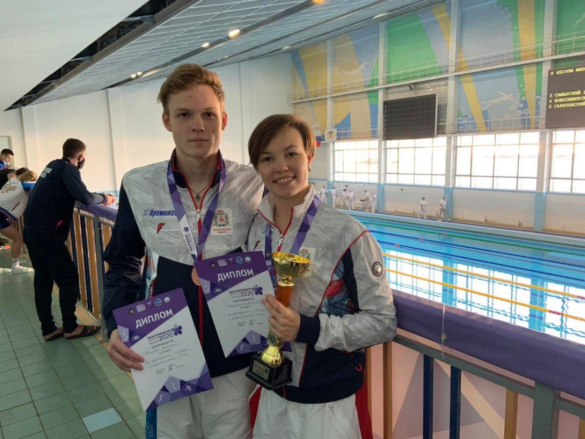 Пловцы из Нижнего Новгорода завоевали три медали на Всероссийской летней Универсиаде