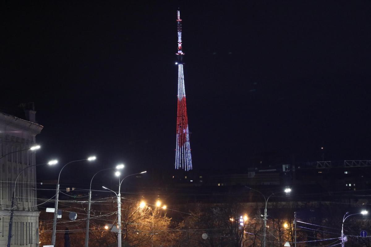 На нижегородской телебашне включится праздничная подсветка в честь дня рождения телецентра