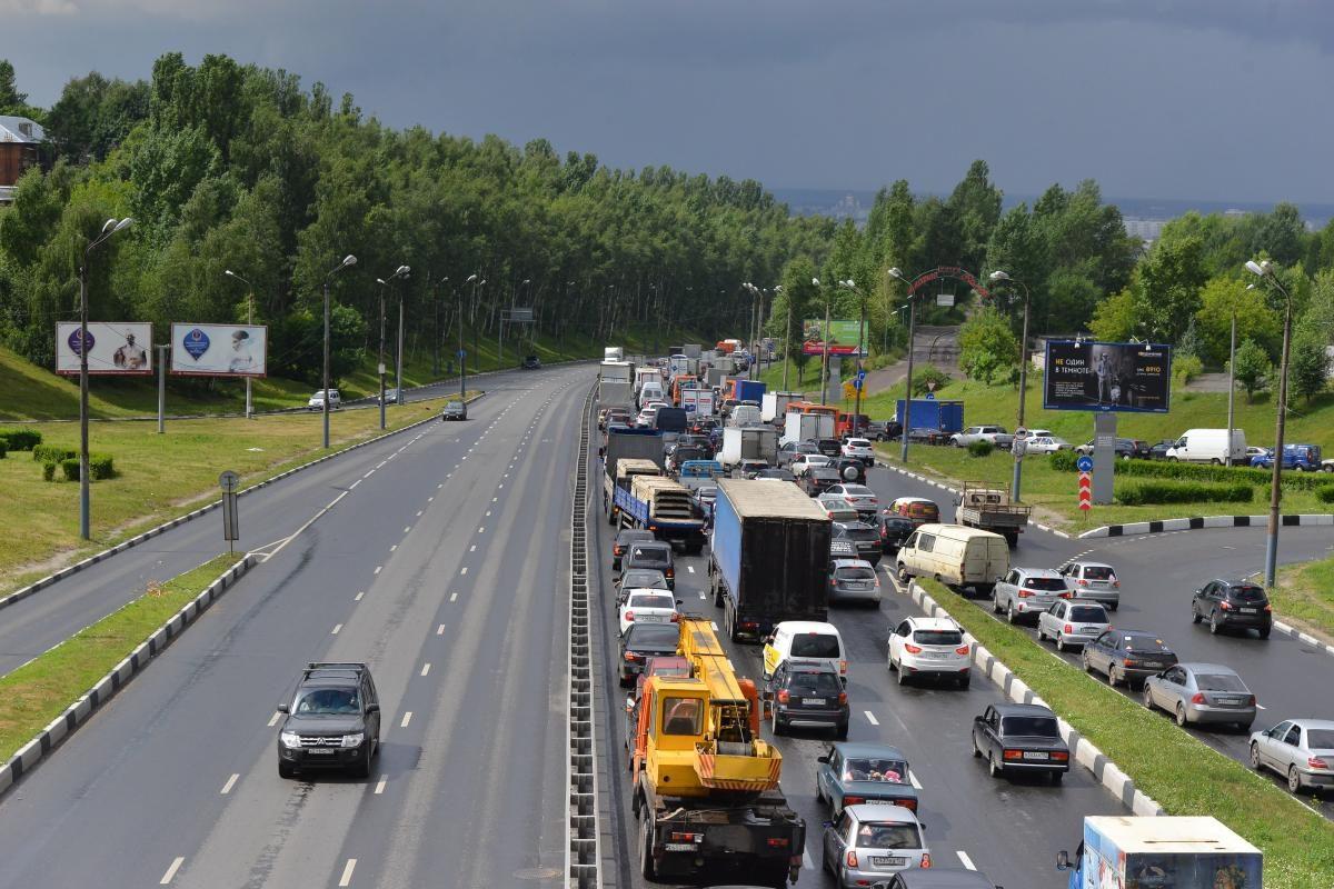 На трассе М-7 «Волга» ограничат движение