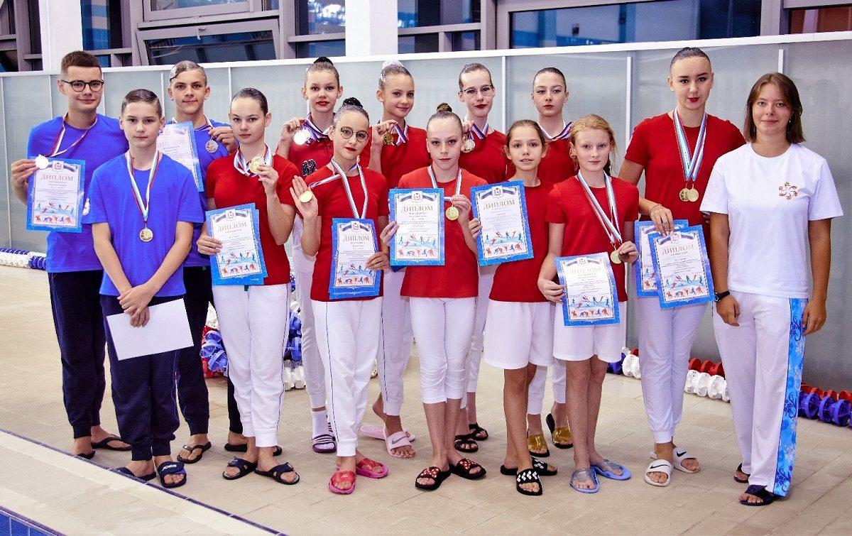 Областной чемпионат по синхронному плаванию прошел в Нижнем Новгороде