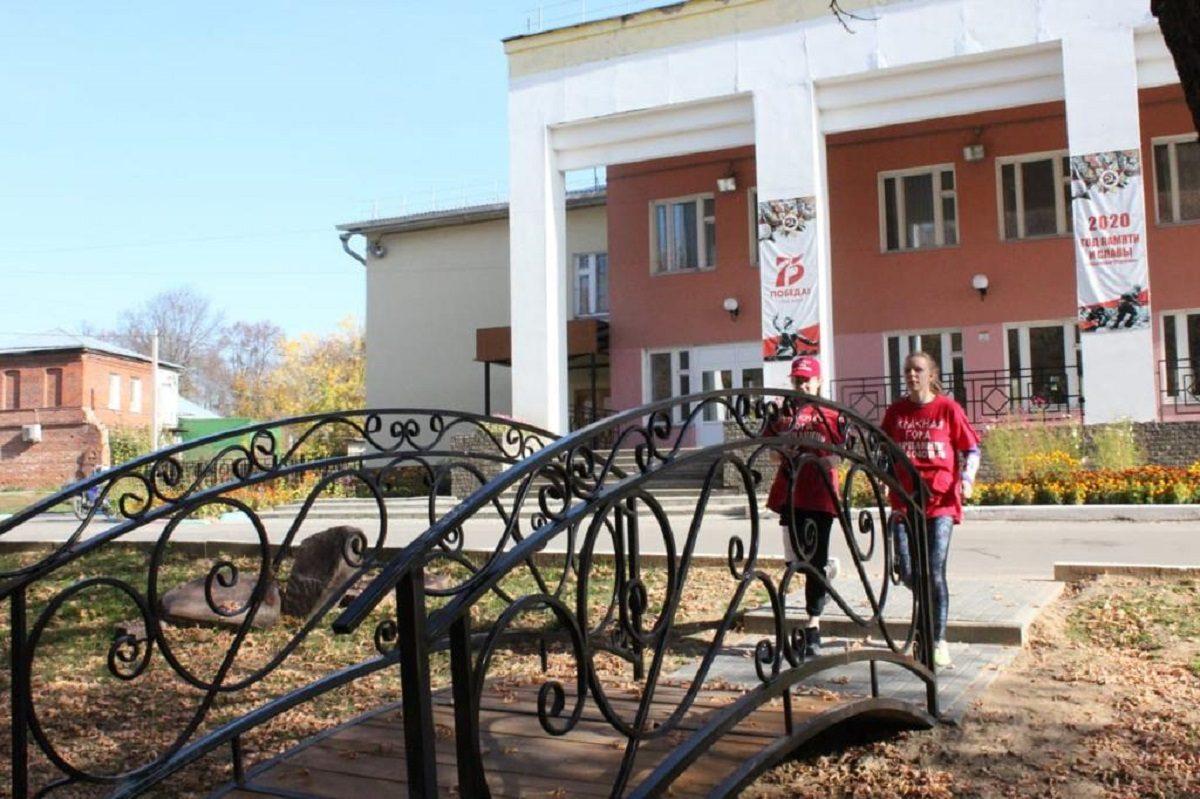 ВВарнавине благодаря национальному проекту благоустроили центральный парк