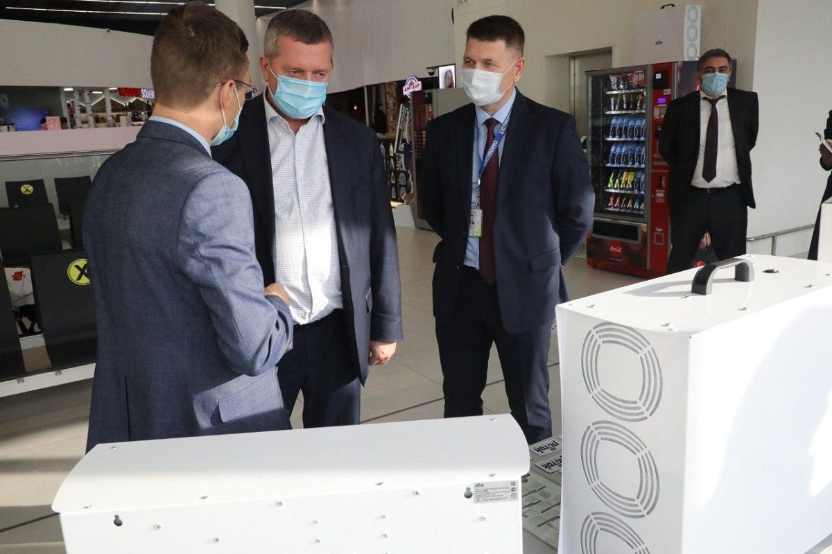 Рециркуляторы нижегородского производителя установили ваэропорту Стригино