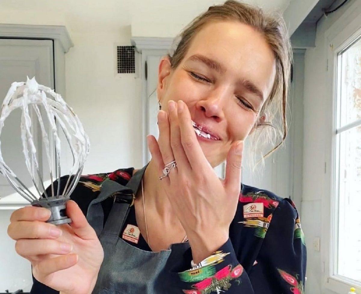 Наталья Водянова испекла «настоящее счастье»