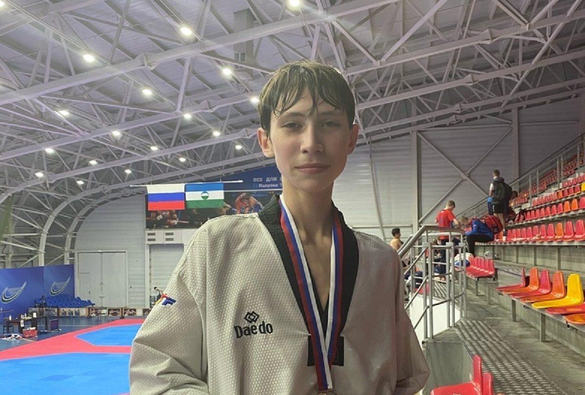 Юный нижегородец стал победителем первенства России по тхэквондо