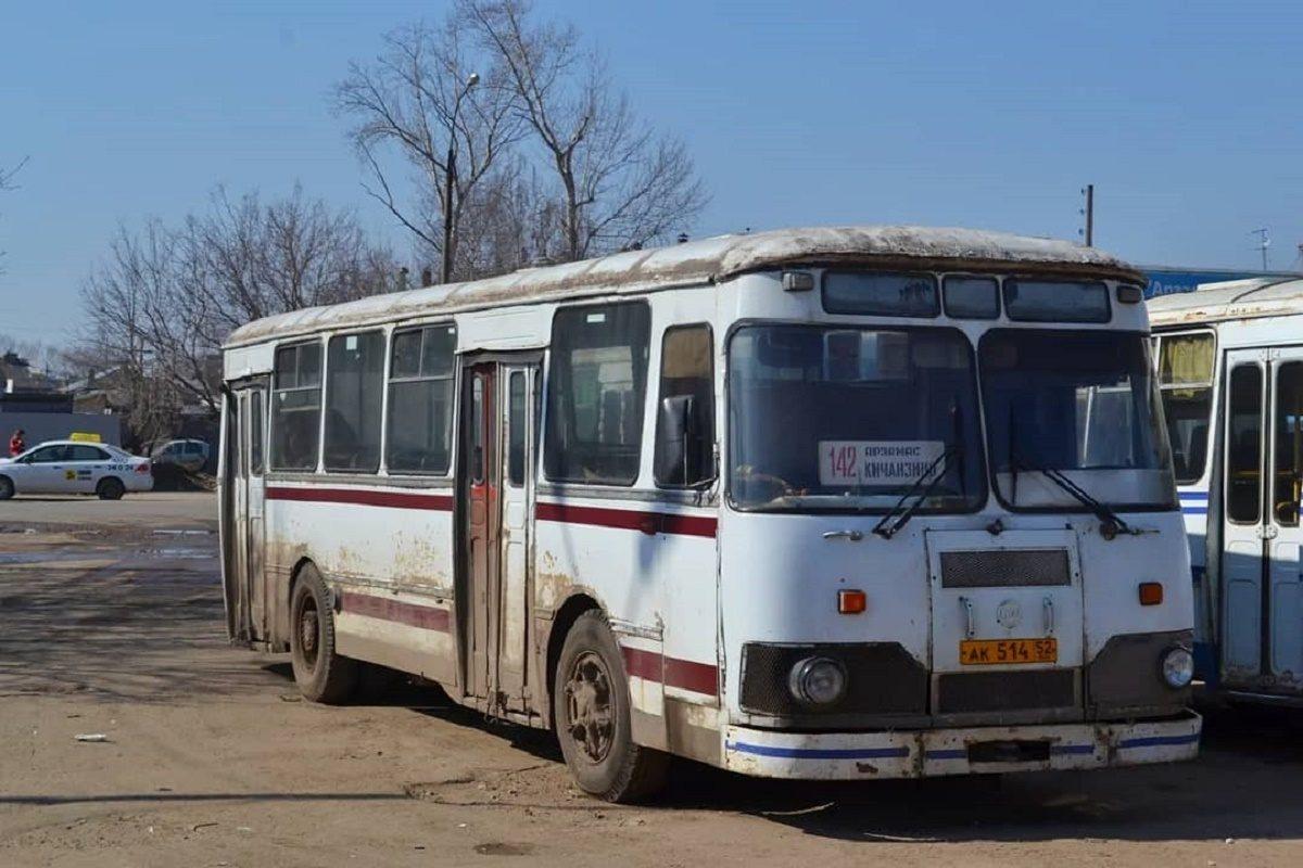 В Арзамасе пытаются продать легендарные  автобусы «ЛиАЗ»