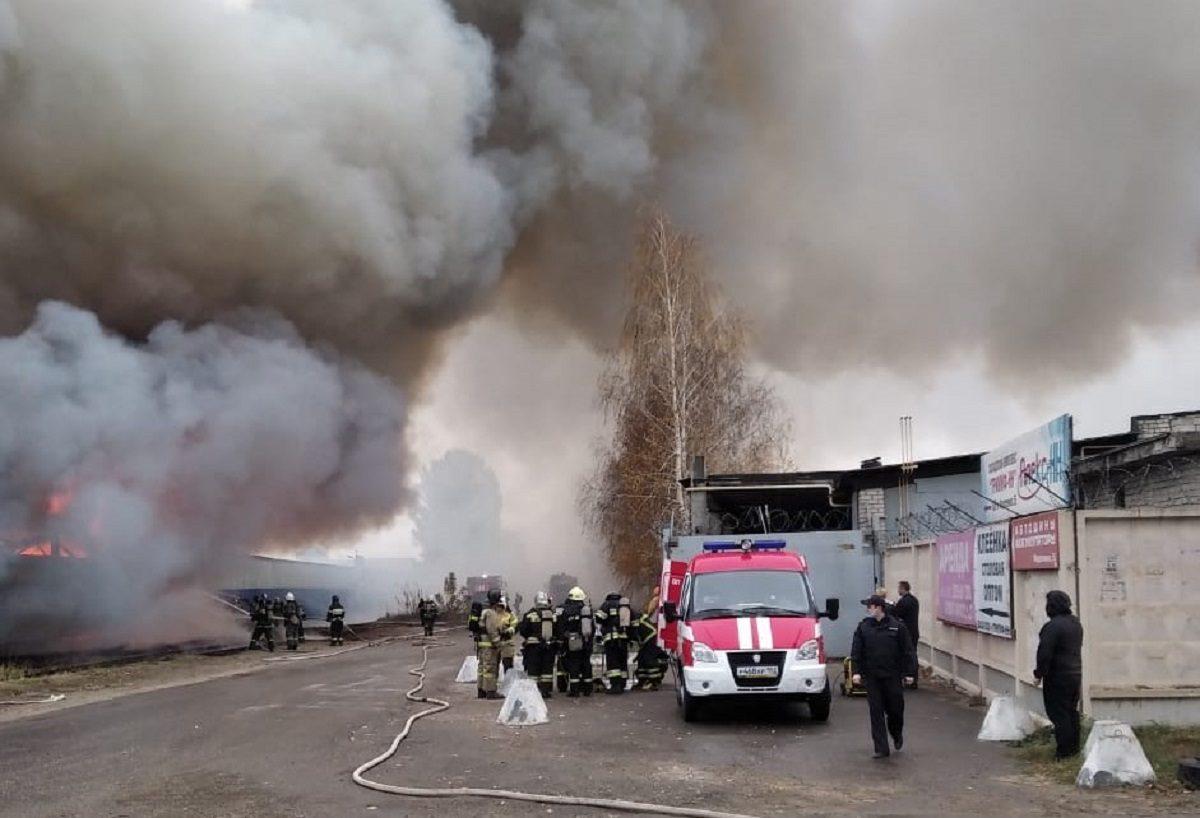 Пожар на складе в Сормовском районе полностью ликвидирован