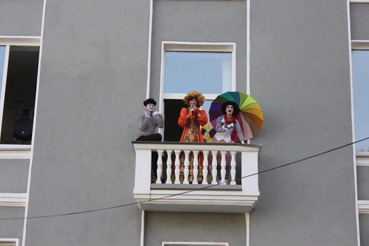 Музыкальный балкон появился в Дворце культуры химиков в Дзержинске