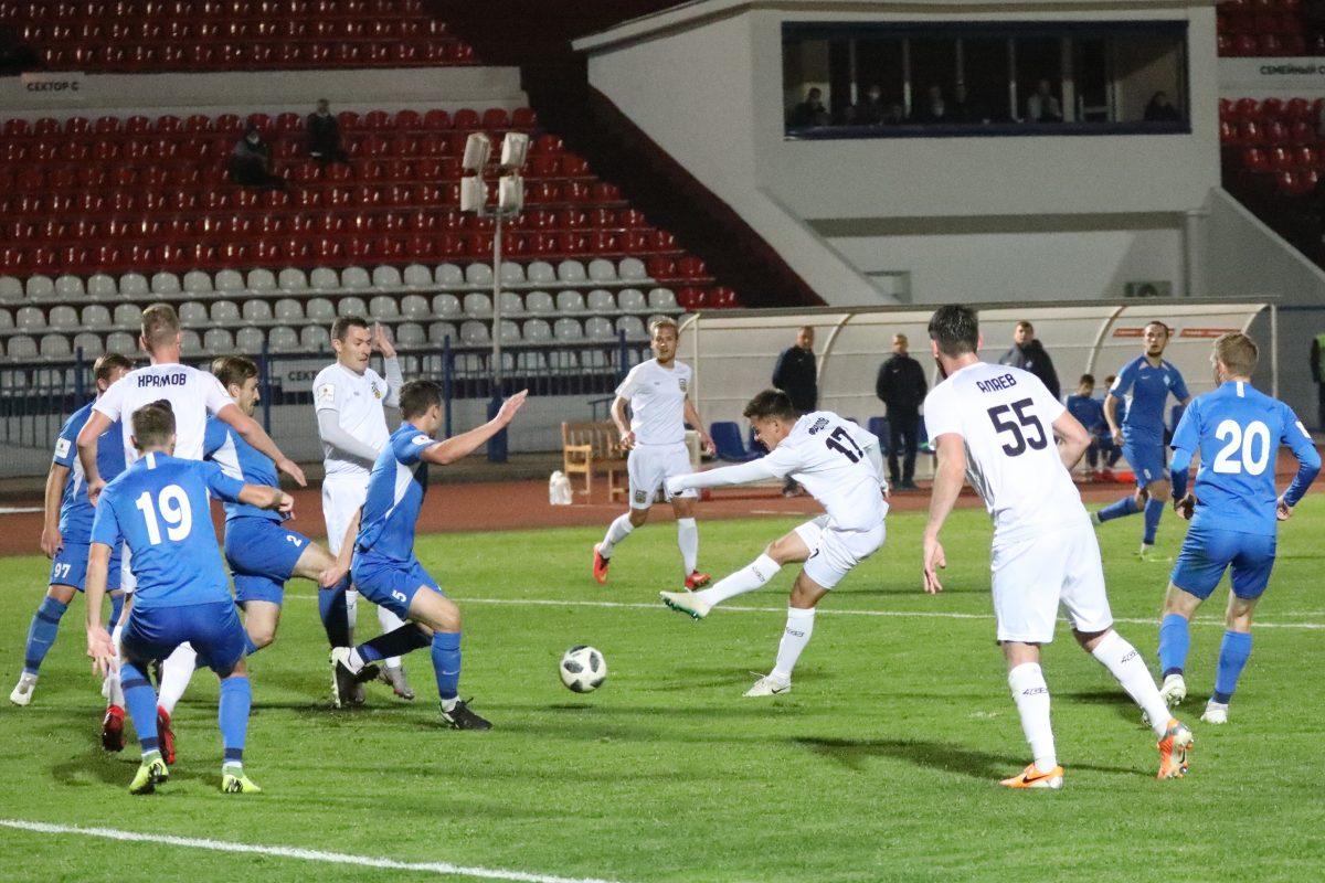 ФК «Волна» в большинстве упустил домашнюю победу