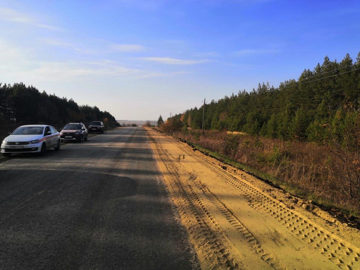 Подъезд кселам Ушаково иИвково отремонтировали вГагинском районе Нижегородской области