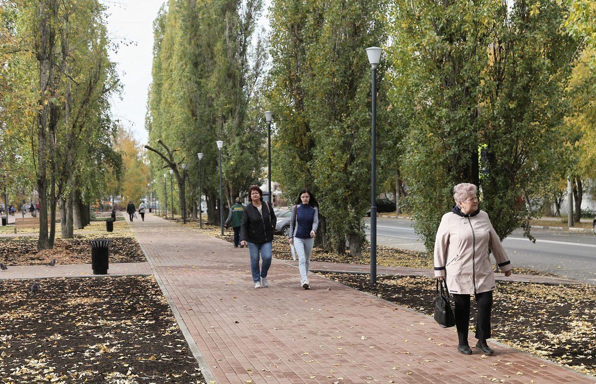 Сквер по проспекту Кораблестроителей в Сормовском районе открылся после благоустройства